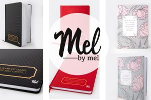 mel by mel semainier notebook